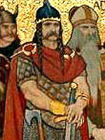 King Kenneth MacAlpin